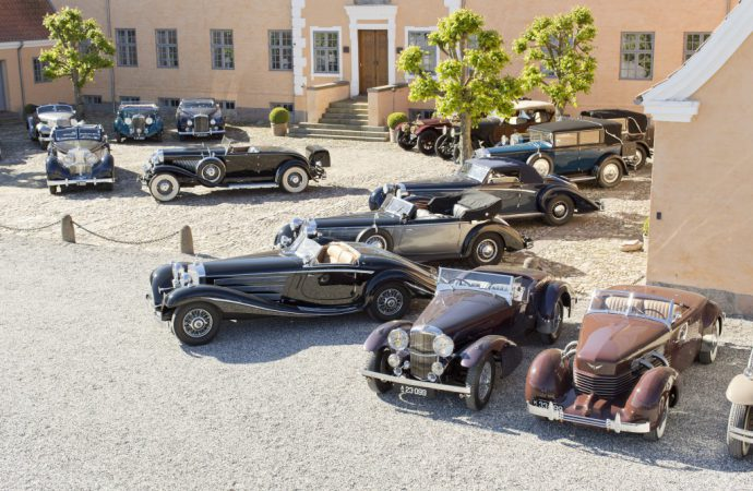 Bonhams to auction major private collection of predominantly pre-war classics in Denmark