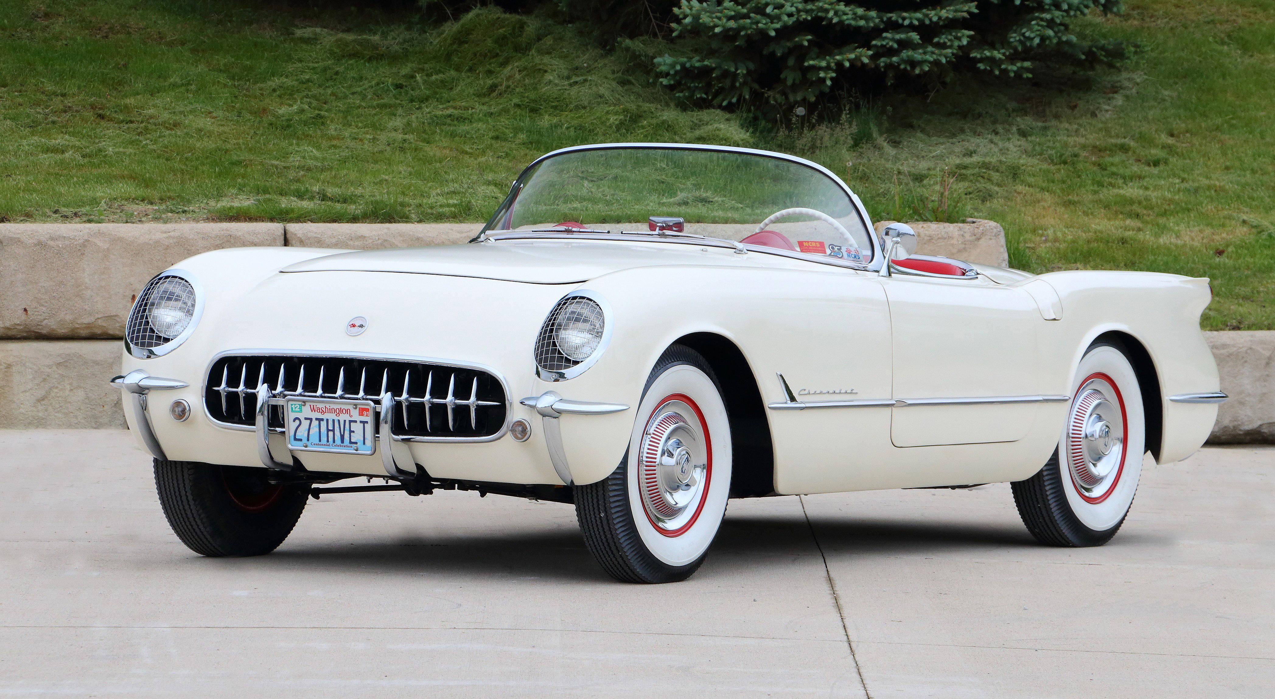Ultra-low-mileage Corvettes set for Mecum Monterey auction ...