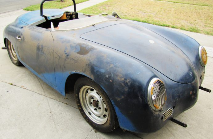 1957 Porsche Speedster 'barn find' uncovered by ClassicCars.com