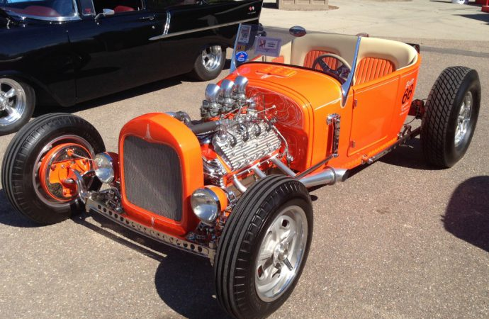 Thumpr Award to '27 Ford 'T' in Colorado