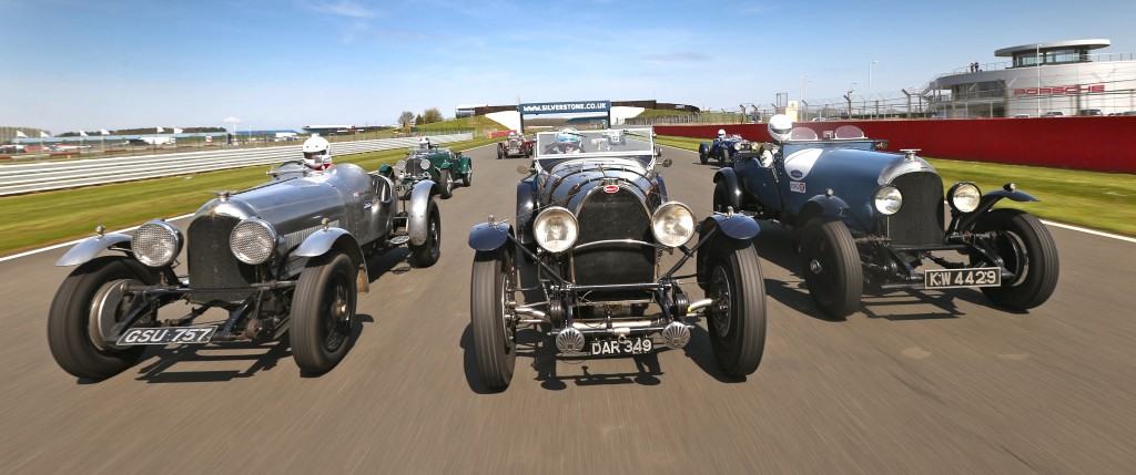 Some of the cars eligible for the Kidston Trophy test at Silverstone circuit | Silverstone Classic photos