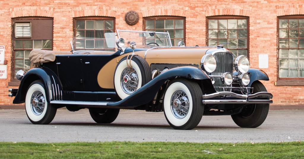Duesenberg's president owned this 1935 dual-cowl phaeton | RM photo by Darin Schnabel