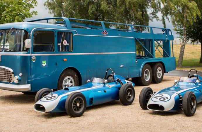 Bonhams lands Scarab Grand Prix cars, transporter for Goodwood Revival auction
