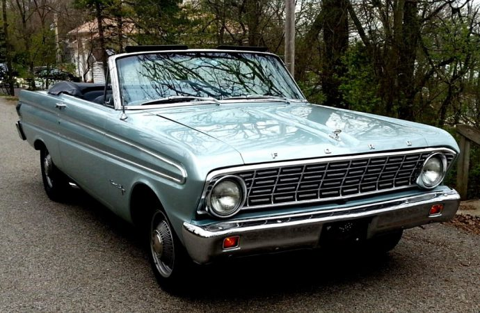 My Classic Car: 1964 Ford Falcon Sprint convertible