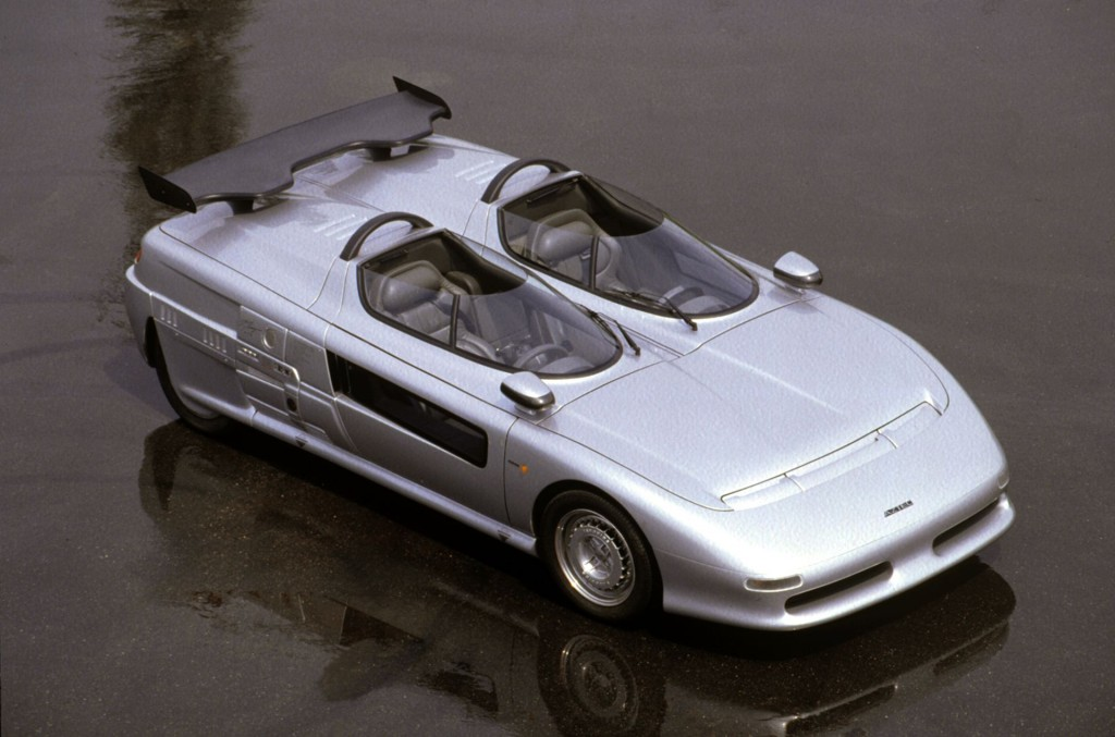 The Guigiaro-designed 1988 Aztec | Italdesign photos