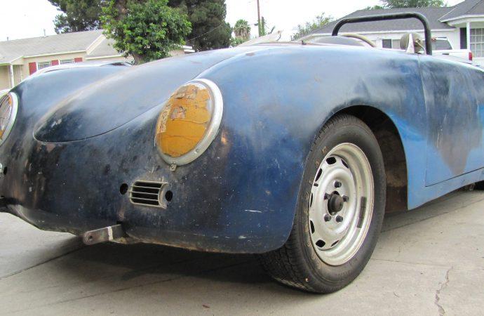 'Barn-find' Porsche Speedster goes on sale at ClassicCars.com