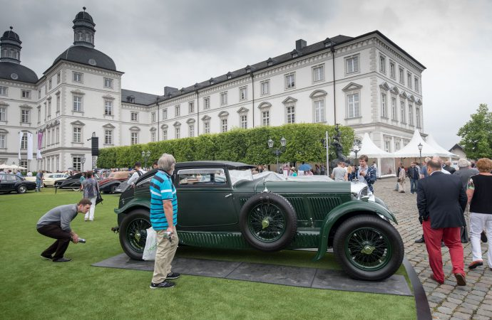 McCaw's 'Blue Train' Bentley dominates German concours