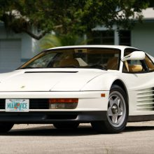'Miami Vice' Testarossa heads for Mecum Monterey sale