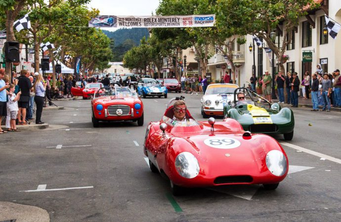 Race cars to fire up start of Monterey Classic Car Week
