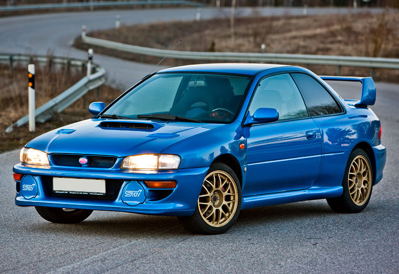 1998 Subaru Impreza 22B STi; top car design rating and specifications