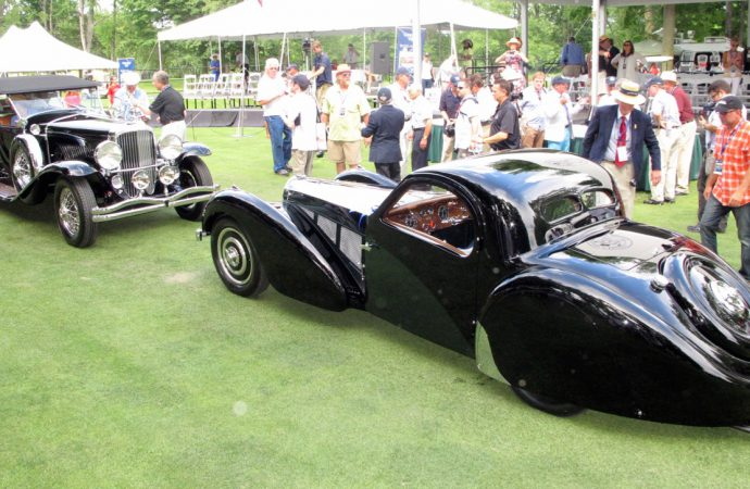 Old guard rules as Duesenberg, Bugatti win at Concours of America