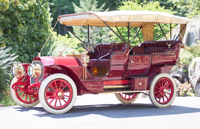 1907 Sterns among Brass Era cars offered at Bonhams sale at the Simeone | Bonhams photos