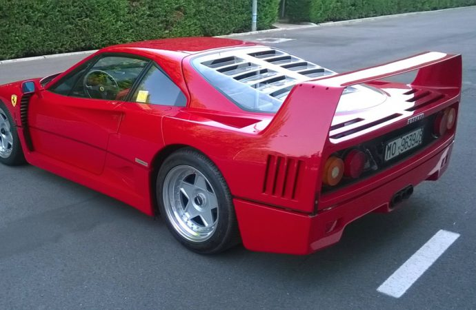 Coys claims F40 auction-record price at Nurburgring sale