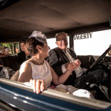 Couples drive in, renew vows during Woodward Dream Cruise