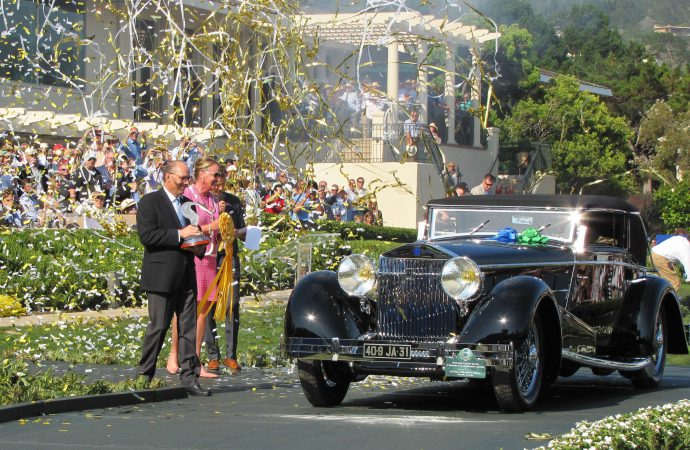 Classic Isotta Fraschini wins Pebble Beach Concours
