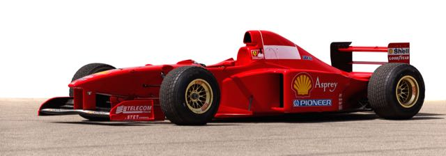 Michael Schumacher won Japanese GP in this car