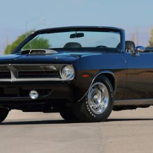 '70 'Cuda convertible stars at Mecum auction in Monterey