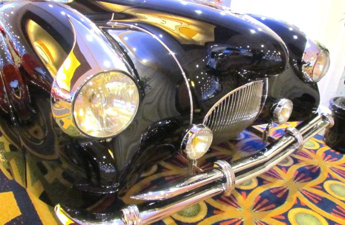 Larry revs up at Rick Cole's Monterey auction