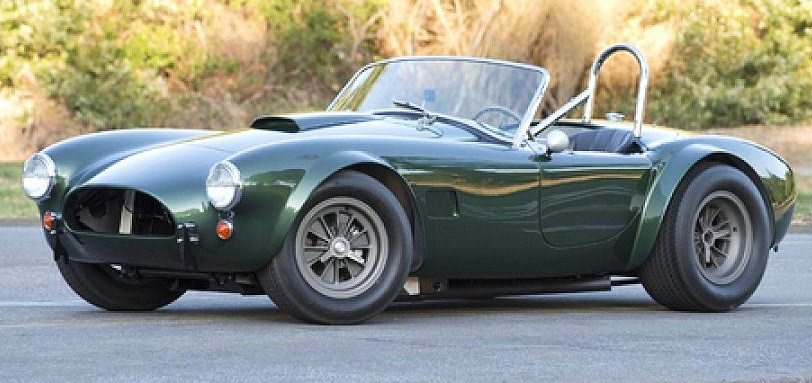 The restored 1965 Shelby Cobra Dragonsnake has just 19,000 miles on its odometer | Worldwide Auctions photos