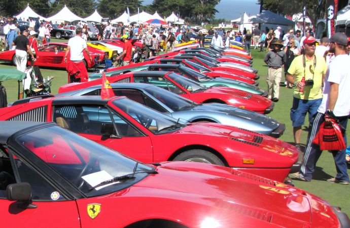 Monterey memories – concours and cars shows