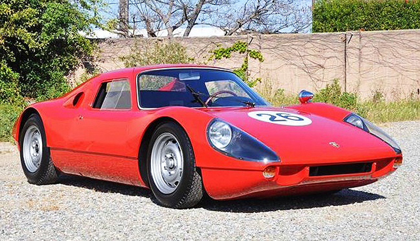 The 1964 Porsche 904 GTS is the kind of European race car sold during the Monterey collector-car auctions