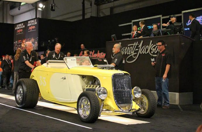 Barrett-Jackson posts $9.5 million in sales at Reno auction