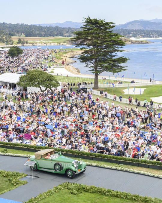 Pinnacle of the week: Crowning of Best of Show at Pebble Beach