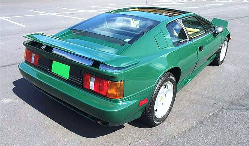 The Lotus Esprit Turbo remains affordable among European exotics