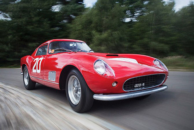 The Ferrari 250 GT TdF is a competition coupe ready for vintage racing by its wealthy buyer | RM Sotheby's photos