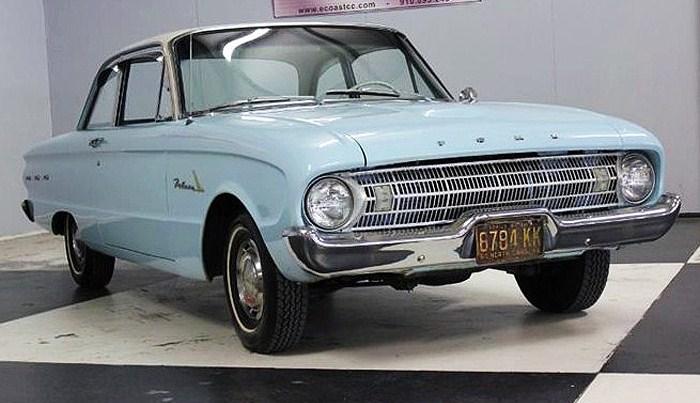 The 1961 Ford Falcon is described as a survivor in original, low-mileage condition
