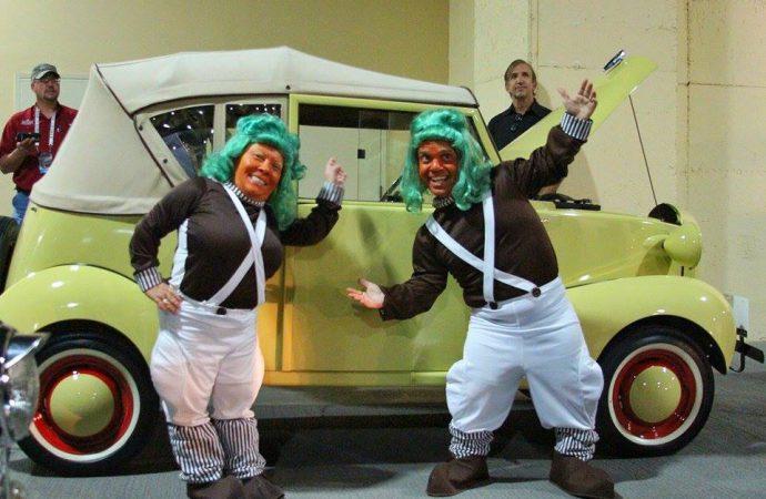 Oompa Loompas, micro cars and Barrett-Jackson Las Vegas