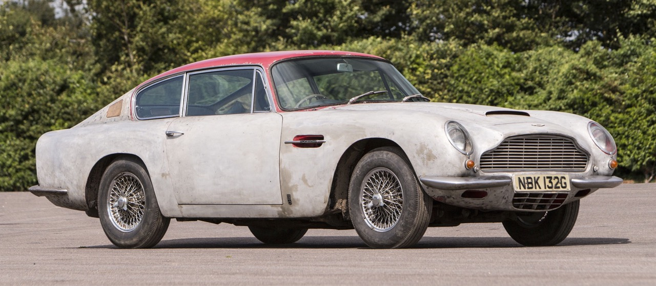 1969 Aston Martin DB6 'project'