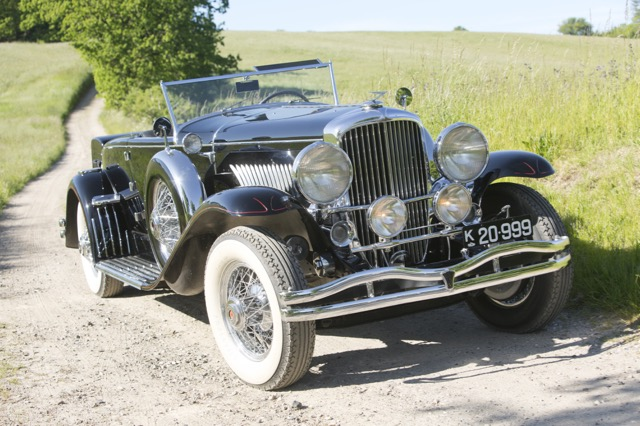 An American bidder paid more than $2.644 million for this Duesenberg Model J at Frederiksen auction | Bonhams photos