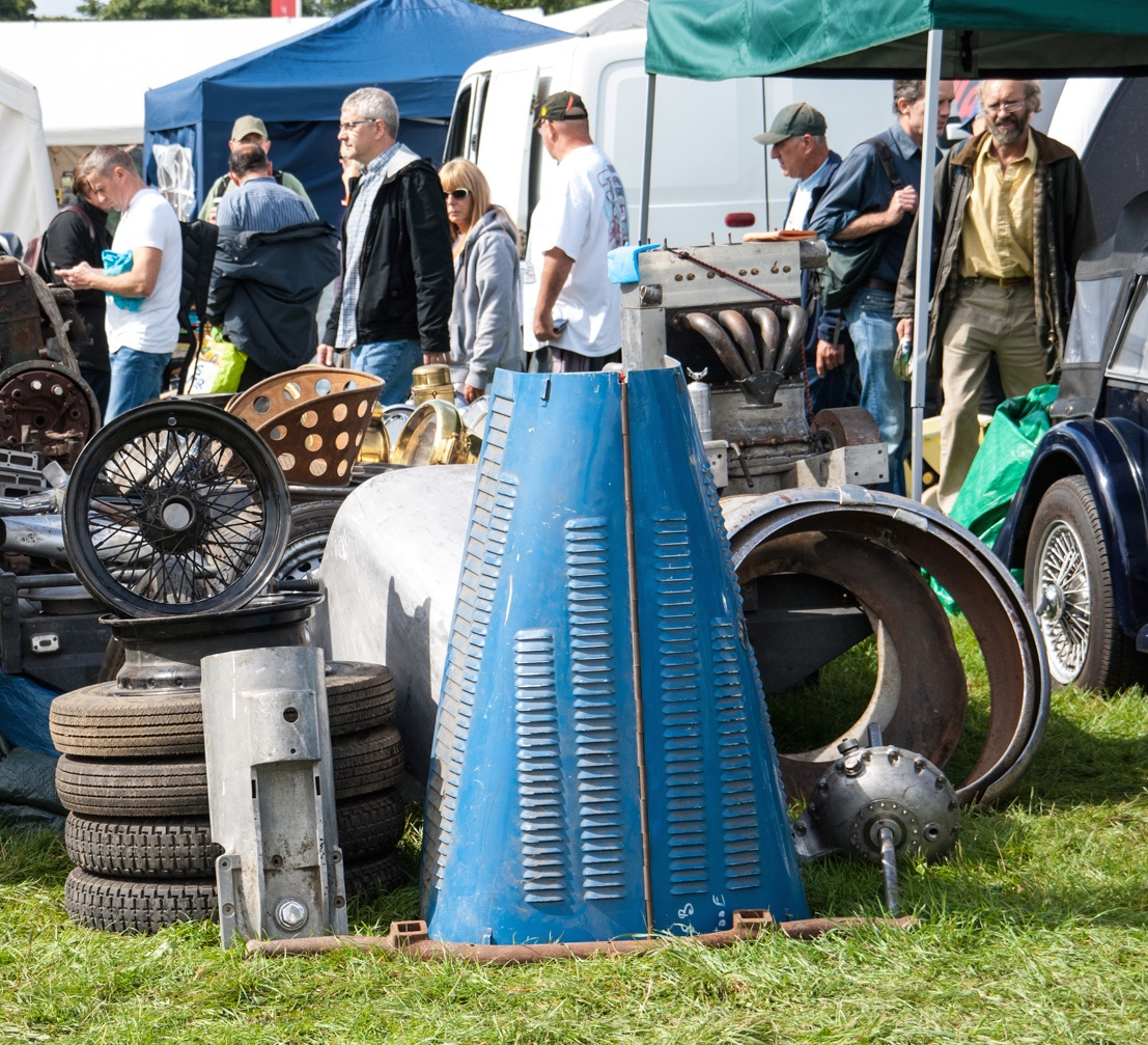 An autojumble is the British version of what we know as an automotive swap meet | Beaulieu photos