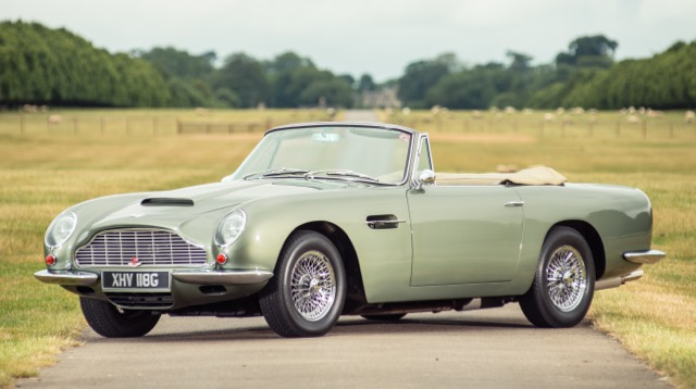 Aston DB6 Vantage Volante brings nearly $1.4 million at Silverstone sale | Silverstone Auctions photos