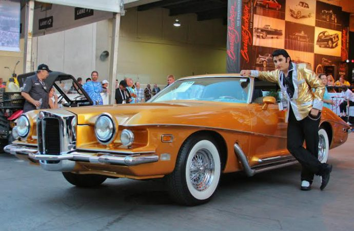 The King presents classic Stutz at Barrett-Jackson Las Vegas