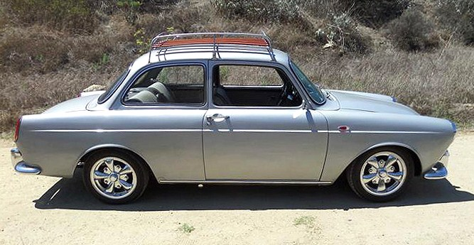 The clean sedan shape makes the notchback a popular collector car