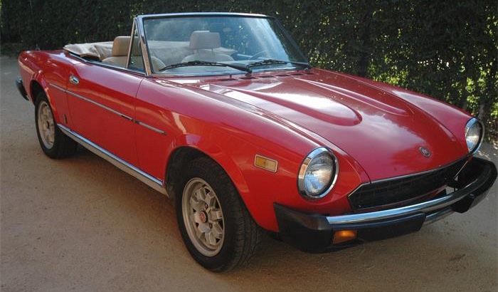 Seller seeks $13,000 for this 1982 Fiat Spider