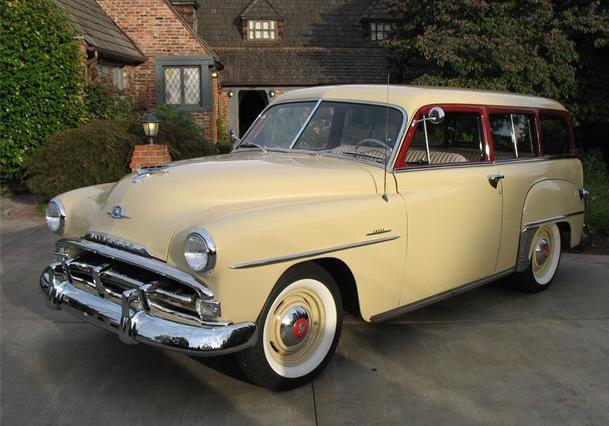 1951 Plymouth Savoy Suburban