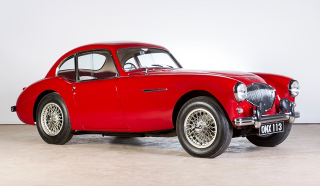 Historic Healeys headed to Bonhams' December auction