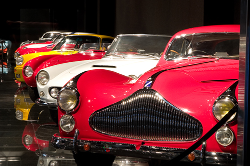 Fundraising balls, speaker series and more at automotive museums this weekend