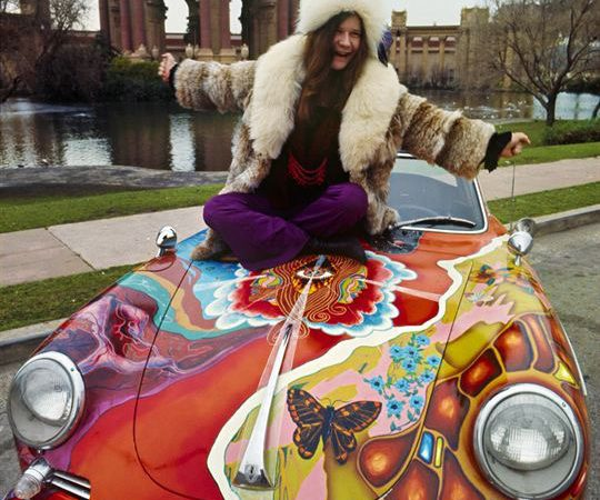 Janis Joplin's psychedelic Porsche headed to RM Sotheby's 'Driven to Disruption' auction December 10 in New York City