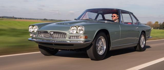 Frua-bodied 1966 Maserati Mexico