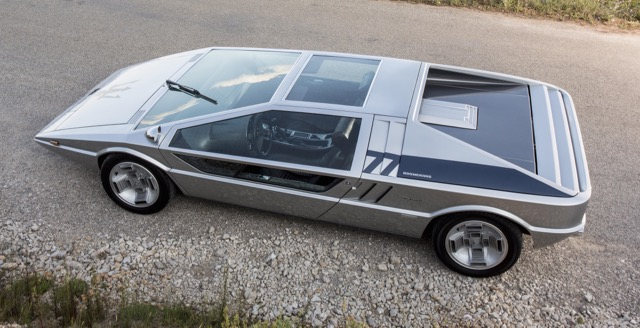 Maserati Boomerang concept responsible for nearly half of auction's total sales figure | Bonhams photos