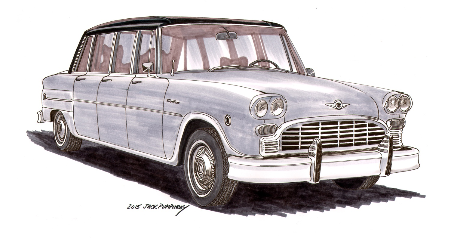 The six-door touring vehicle Checker plans to produce