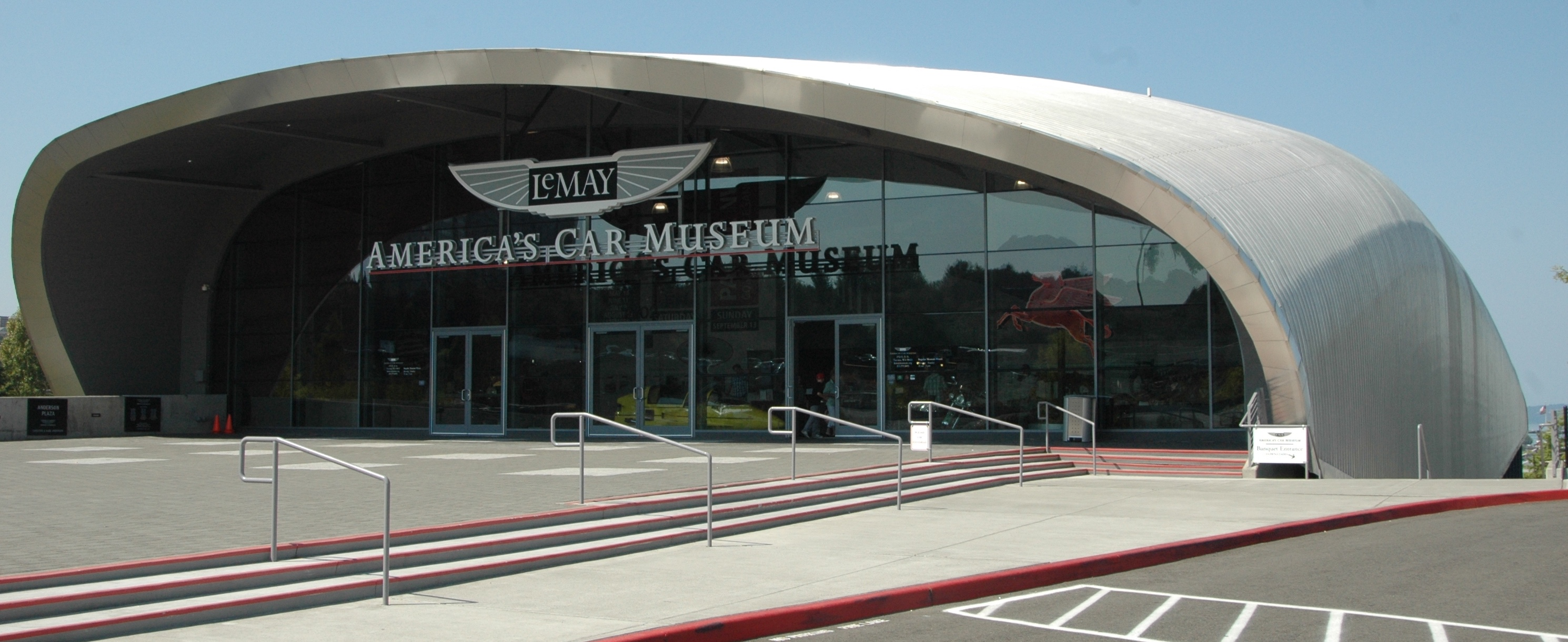 LeMay museum itself is an architectural wonder | Photos by Steve Purdy
