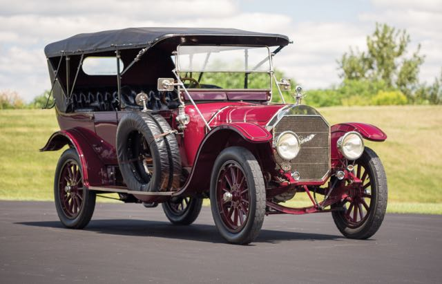 1913 Pierce-Arrow Model 66-A 7-passenger touring car | RM Sotheby's photo by Drew Shipley