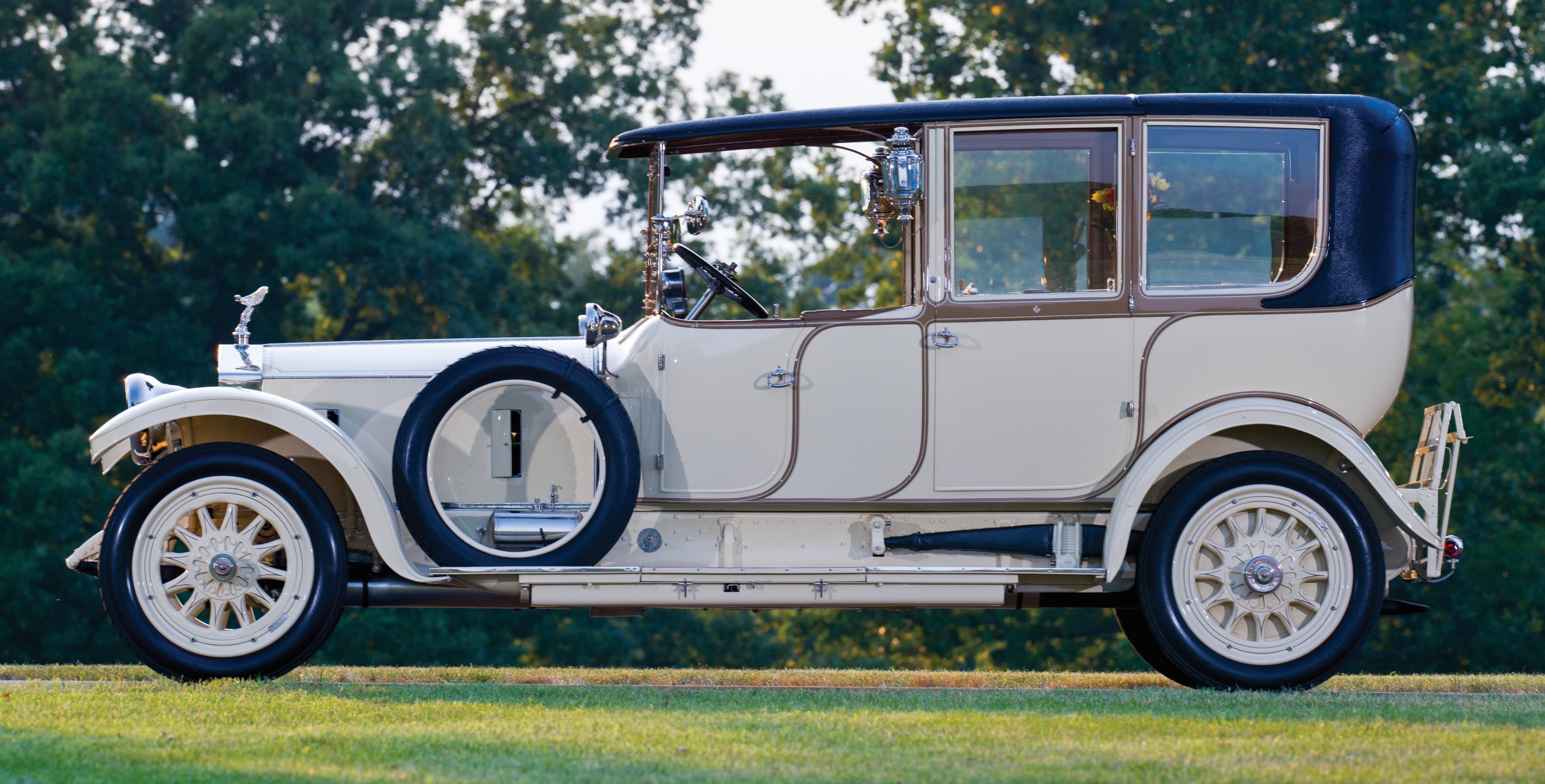 1914 Rolls-Royce 40/50 HP Silver Ghost | RM Sotheby's photo by Greg Keysar