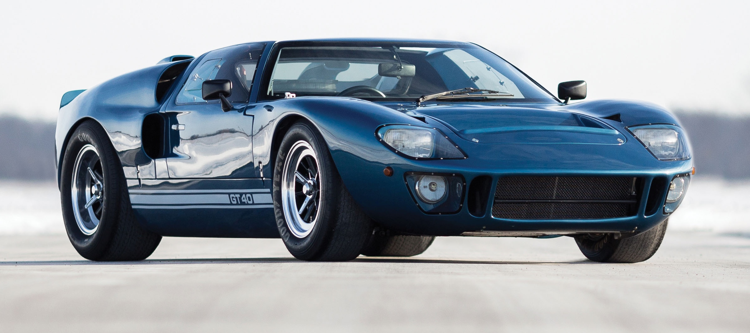 Ford GT 40 Mk V Spyder a continuation of the Le Mans-winning line | Auctions American photo by Drew Shipley