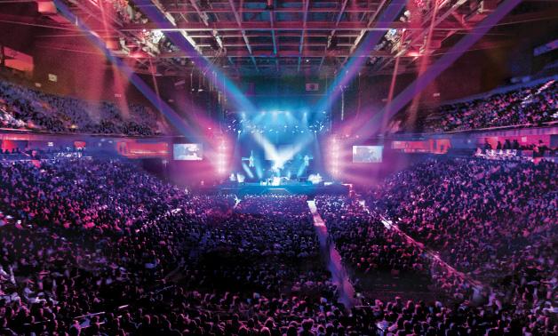 The 10,000-seat Mohegan Sun Arena where Barrett-Jackson will be held | Mohegan Sun